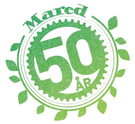 Mared-50years-logo