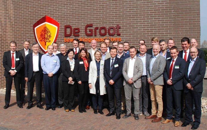 Combois Service Meeting 2017 - participants