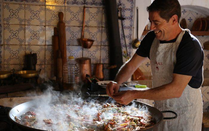 AGM 2017 50th anniversary social program: tyical dinner paella